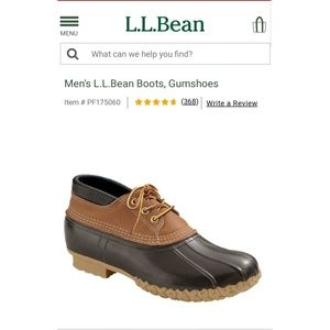 🎆🇺🇸SALE🇺🇸🎆  L.L. Bean Boots Rain/Duck Boot